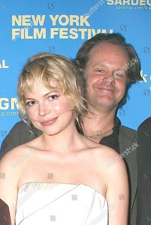 Michelle Williams and  Larry Fessenden