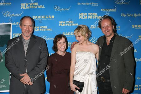 Will Patton, Kelly Reichardt, Michelle Williams and Larry Fessenden