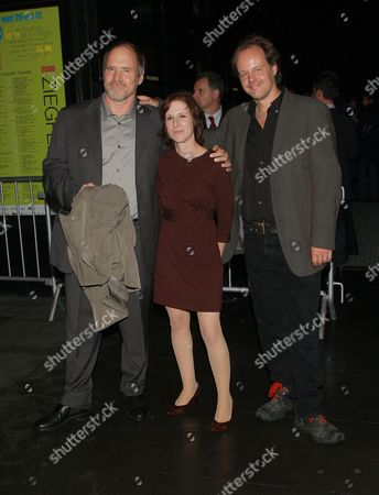 Will Patton, Kelly Reichardt and Larry Fessenden