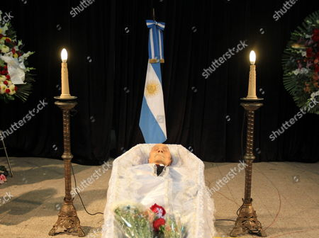 General View of Argentinian Writer Ernesto Sabato's Wake in Buenos Aires Argentina on 30 April 2011 Argentine Writer and Intellectual Ernesto Sabato who Died on 30 April 2011 at the Age of 99 was Considered One of the Most Influential of Contemporary Argentinian Writers He Won International Acclaim with His Trilogy of Psychological Novels El Tunel (the Tunnel) As Well As Abaddon El Exterminador (the Angel of Darkness) and Sobre Heroes Y Tumbas (on Heroes and Tombs) Argentina Buenos Aires