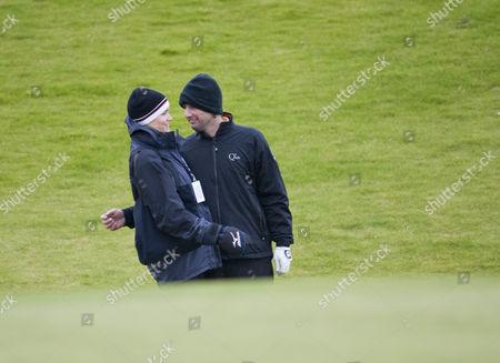 Luke Wilson and his girlfriend Meg Simpson at Kingsbarns