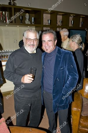 Stock Picture of Marvin Shanken and Tico Torres