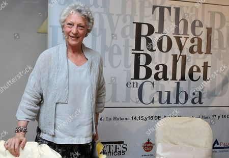 Monica Mason Director of London's Royal Ballet Poses During a Press Conference in Havana Cuba 11 July 2009 This Company Will Present Its Show For the First Time in Cuba on the Next Week Cuba Havana