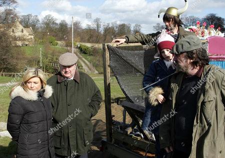 'Emmerdale'   -  Louise Appleton (Emily Symons), Alan Turner (Richard Thorp), Belle Dingle (Eden Taylor-Draper), Eli Dingle (Jo Gilgun) and Zak Dingle (Steve Halliwell).