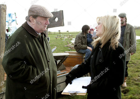 'Emmerdale'  -  Alan Turner (Richard Thorp) and Louise Appleton (Emily Symons)