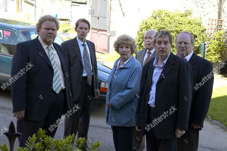 'Emmerdale'   -  Betty Eagleton (Paula Tilbrook), Eric Pollard (Chris Chittell), Ashley Thomas (John Middleton) and Alan Turner (Richard Thorp)