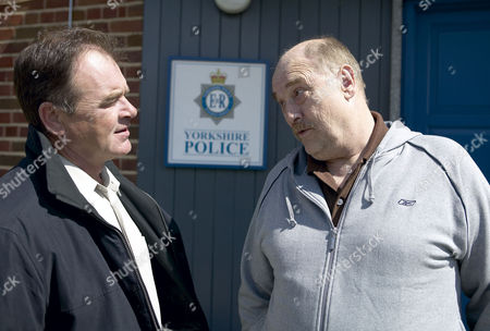 'Emmerdale'   -  Terry Woods (Billy Hartman)  and Duke Woods (Dicken Ashworth)