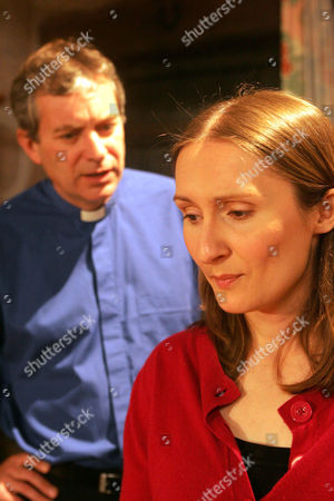 'Emmerdale'  -  Ashley Thomas (John Middleton) and Emily Kirk (Kate McGregor)