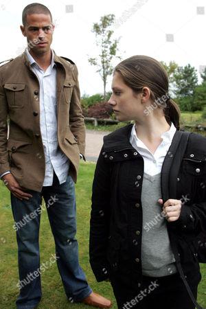 'Emmerdale'  - Ritchie Carter (Glenn Lamont) and Victoria Sugden (Isabel Hodgins)