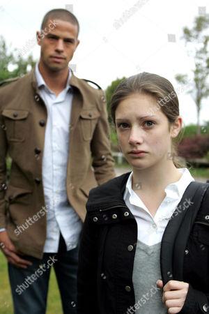 'Emmerdale'  - Ritchie Carter (Glenn Lamont) and Victoria Sugden (Isabel Hodgins).