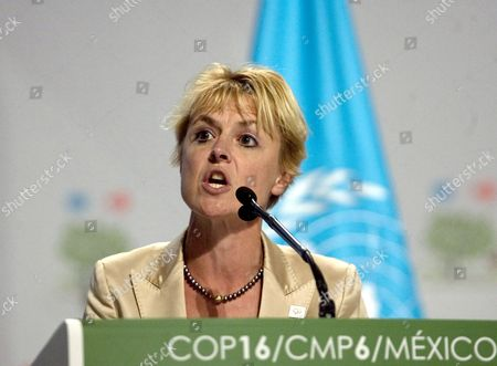 Danish Minister For Climate and Energy Lykke Friis Speaks During a High Level Meeting in Cancun Mexico on 09 December 2010 During the Xvi Un Climate Change Summit Mexico Cancun