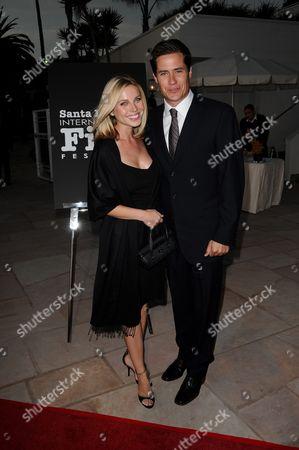 Stock Picture of Andrew Firestone and Wife Ivana Bozilovic
