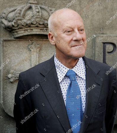 British Architect Norman Foster After His Meeting with the President of the Asturias Region Vicente Alvarez Areces (unseen) in Oviedo Spain 16 September 2008 Foster and Areces Met to Discuss Details of the So-called 'Isle of Innovation' an Urban Project That is Being Built at the Aviles Estuary to Be the Headquarters of the Oscar Niemeyer Foundation Spain Oviedo
