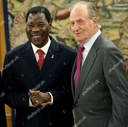 Editorial image of Spain Benin President Royals - Dec 2009
