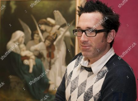 Us Director Darren Lynn Bousman Smiles As He Poses For Photographers During the Presentation of the New Film He Will Be Shooting in Barcelona As of January 2011 Called '11 11 11' in Barcelona Northeastern Spain 10 December 2010 Bousman Directed the 'Saw' Horror Films Spain Barcelona