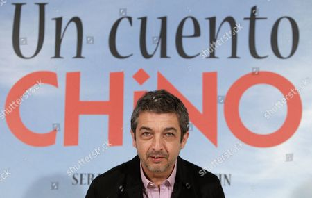 Argentinian Actor/cast Member Ricardo Darin Poses During the Presentation of 'Un Cuento Chino (a Chinese Tale)' in Madrid Spain 06 June 2011 the Movie by Argentinian Director Sebastian Borensztein Opens in Spanish Theatres on 17 June Spain Madrid