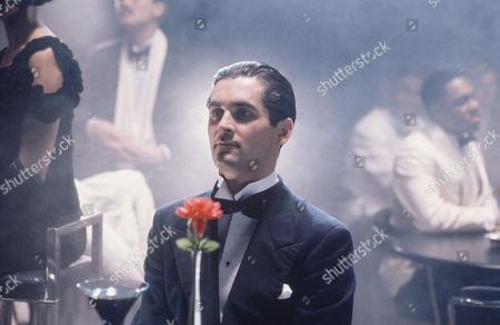 Stock Image of 'Poirot'  - 'The Adventure of the Cheap Flat'  - Nigel Whitmey as Luigi Valdarno
