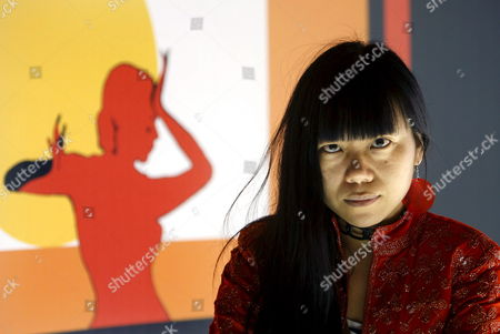 Chinese Film Director Xiaolu Guo Poses For the Media During the Presentation of Her Last Film Entitled 'She a Chinese' at the Seville Festival of European Cinema in Seville Andalusia Southern Spain 09 November 2009 'She a Chinese' Will Compete in the Official Section of the Festival the Festival Will Run Until 14 November 2009 Spain Seville