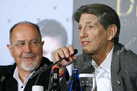 Spanish Film Director Bigas Luna (l) and Us Actor Peter Coyote Address a Press Conference to Present Their Film 'Di Di Hollywood' Directed by Spanish Director Bigas Luna in Madrid Spain 14 October 2010 the Film Opens in Spanish Cinemas on 15 October 2010 Spain Madrid