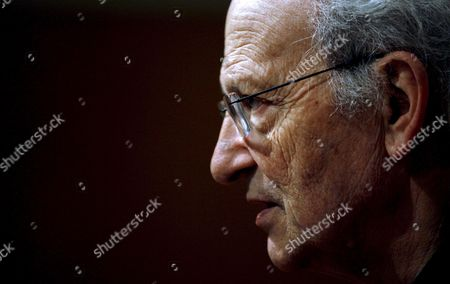 Stock Picture of French Cartoonist Jean Giraud 'Moebius' Talks to Journalists As He Attends the 26th Edition of International Comic Show in Barcelona Spain 19 April 2008 the Fair Will Finish on Sunday 20 April Spain Barcelona