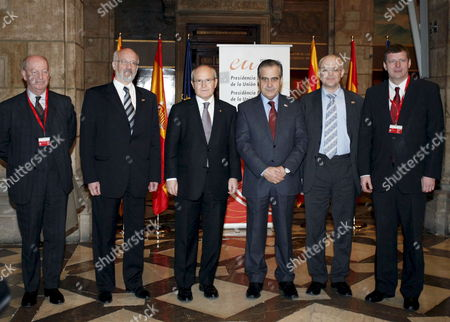 Editorial image of Spain Eu Diplomacy - Jan 2010