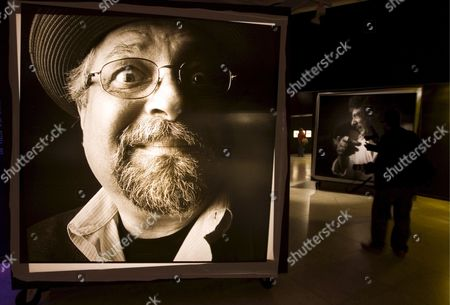 The Portraits of the Us Saxophonist Joe Lovano (l) and Flamenco Singer Enrique Morente (r) by Spanish Photographer Martin Diez Zurutuza Are Two of the More Than 40 Portraits of Jazz Musicians Forming Part of His Exhibition Entitled 'More Faces of the Jazz' Inaugurated in Vitoria Spain 24 April 2008 Spain Vitoria