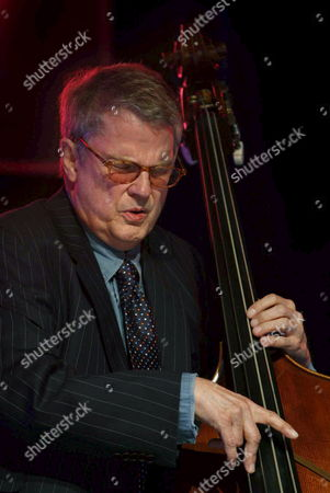 Us Musician Charlie Haden Plays Double Bass During His Performance at Getxo?s Jazz International Festival in Vizcaya Nothern Spain Late Friday 6 July 2007 Spain Getxo