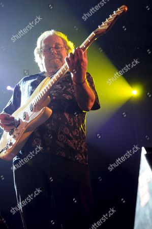 Bassist Peter Barton of Mythical England Band the Animals Perfoms on Stage at the Purple Weekend 2010 Festival at Le?n Spain Today Monday 6 December Spain Le?n