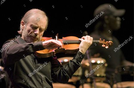 French Violinist Jean Luc Ponty Performs During the Closing Day of the 43rd Edition of the San Sebastian Jazz Festival in San Sebastian Spain 27 July 2008 Spain San Sebastißn