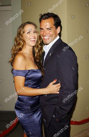 Christian De La Fuente & wife Angelica Castro