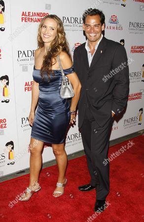 Cristian de la Fuentes & wife Angelica Castro