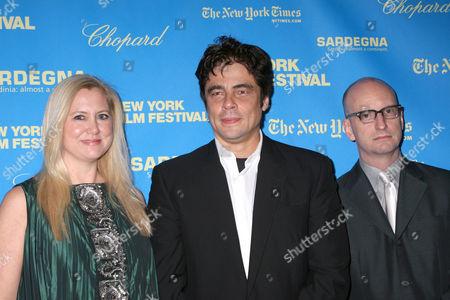 Laura Bickford, Benicio Del Toro, Steven Soderbergh