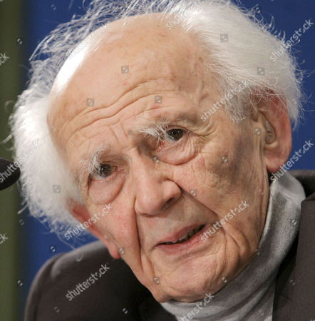 Polish Sociologist Zygmunt Bauman Looks on During a Press Conference in Oviedo Spain on 20 October 2010 where He and French Sociologist Alain Tourine Will Be Awarded with the Prince of Asturias Prize 2010 For Comunication and Humanities on 22 October 2010 Spain Ovideo