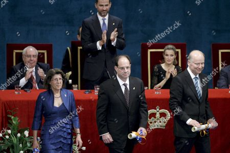 Editorial picture of Spain Prince of Asturias Awards 2010 - Oct 2010