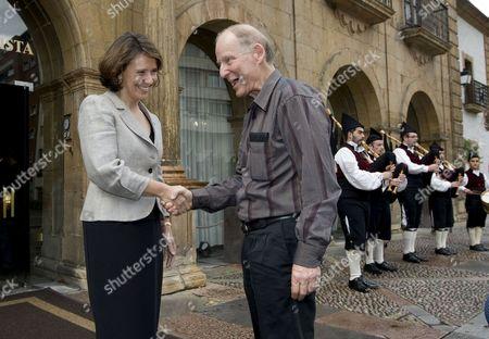 Editorial picture of Spain Principe De Asturias Awards - Oct 2010