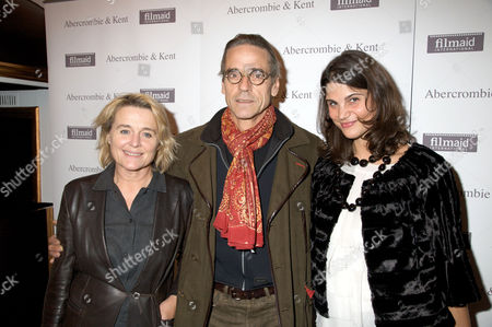 Stock Picture of Sinead Cusack, Jeremy Irons and Katrina Pavlos