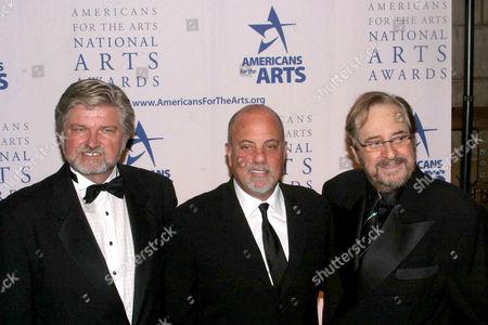 Stock Photo of Robert L. Lynch, Billy Joel And Phil Ramone