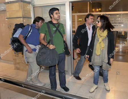 Editorial photo of Spain Sahara Journalists - Nov 2010