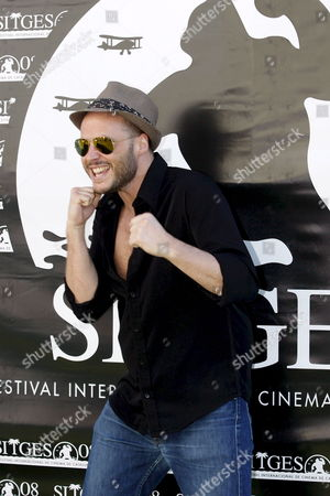 Belgian Director Fabrice Du Welz Poses For Photographers at the Sitges International Film Festival 05 October 2008 in Sitges Spain where He Presented His Film 'Vinyan' Spain Sitges (barcelona)