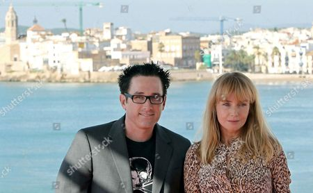 Us Actress Rebecca De Mornay (r) and Us Director Darren Lynn Bousman (l) Pose For Photographers During the Presentation of Their Movie 'Mother's Day' at the Sitges International Fantastic Film Festival 2010 in Sitges Barcelona Spain 16 October 2010 the Festival Runs Until 17 October Spain Sitges