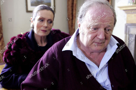 'Emmerdale'   TV   2006 Pictured: Turner (Richard Thorp) is devasteted that Steph Stokes (Lorraine Chase) was telling the truth about Terrence all along and feels guilty for not believing her from the start. Steph can't forgive her father.