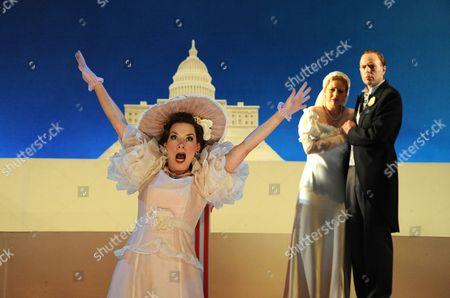 Heather Shipp (Diana Devereux), Bibi Heal (Mary Turner) and William Dazeley (Wintergreen)