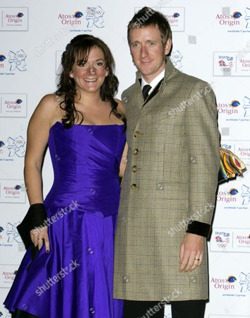 Stock Image of Bradley Wiggins and wife Catherine