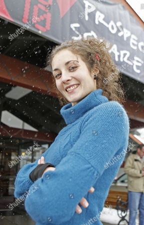Spanish Actress Irene Anula Poses For a Picture at the Prospector Theater Before the Showing of Her Film 'How i Met Your Father' at the 2010 Sundance Film Festival in Park City Utah Usa 27 January 2010 the Festival Runs Through 31 January 2010 United States Park City