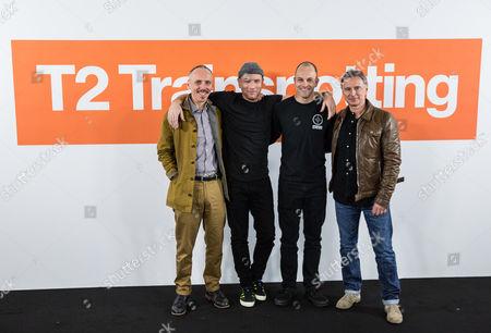 Ewen Bremner, Ewan McGregor, Jonny Lee Miller and Robert Carlyle