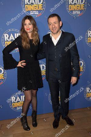 Dany Boon and wife Yael Boon
