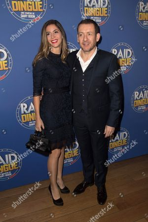 Stock Image of Dany Boon and wife Yael Boon