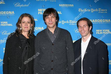 Mara Manus, Sergey Dvortsevoy and Scott Foundas