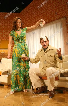 Editorial photo of 'Absent Friends' play at The Palace Theatre, Watford, Britain  - 06 Oct 2008