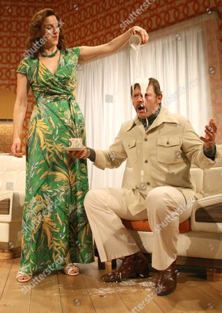 Editorial picture of 'Absent Friends' play at The Palace Theatre, Watford, Britain  - 06 Oct 2008